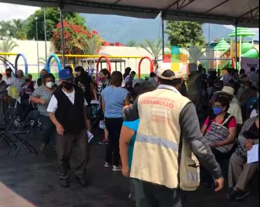 Sigue vacunación anticovid en el estado de Veracruz para personas de 50-59 años y también para embarazadas