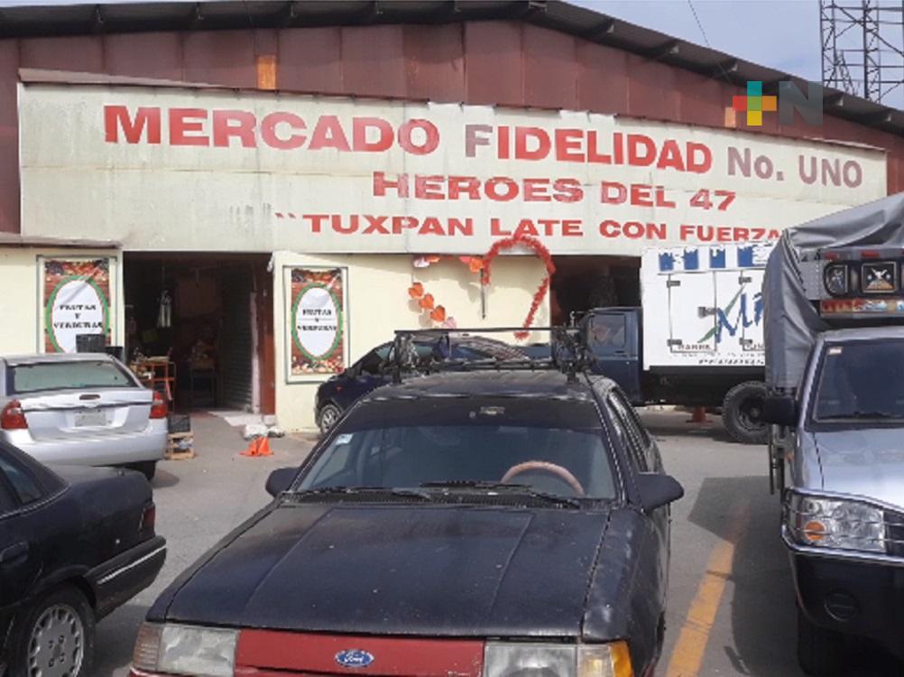 Reubicación afectó a locatarios del mercado Héroes del 47