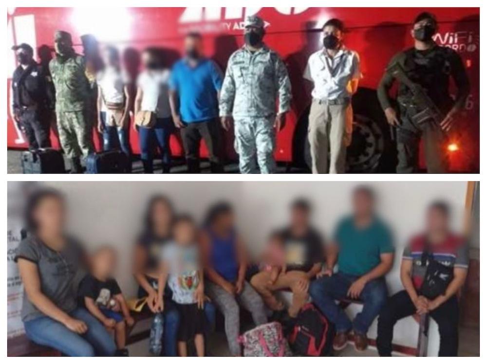 Rescató SSP a 57 migrantes centroamericanos, en cuatro municipios del sur de Veracruz
