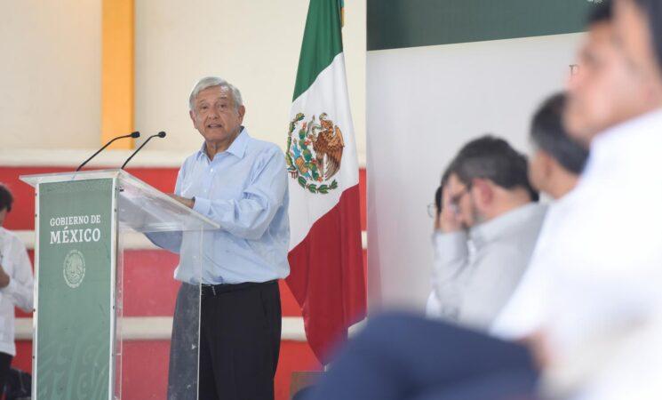 Inicia dispersión de pensiones para adultos mayores con incremento: AMLO