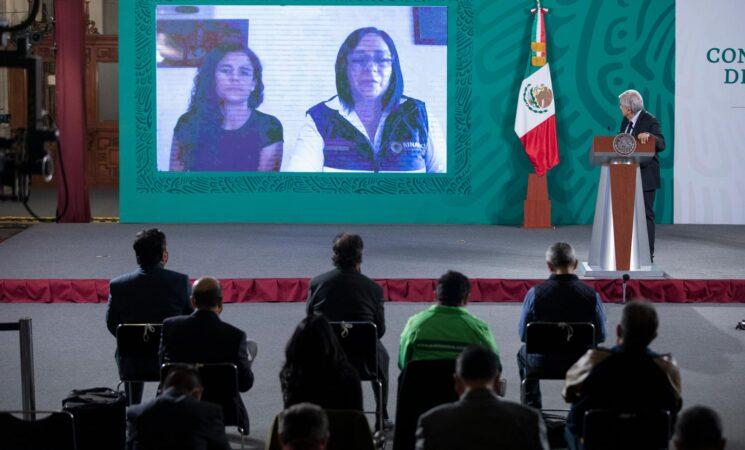Presidente destaca trabajo continuo y coordinado para recuperar cuerpos de mineros en Múzquiz, Coahuila