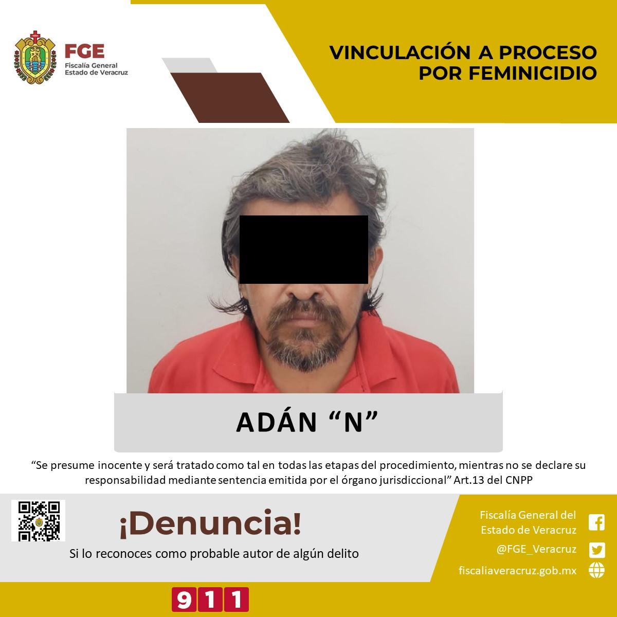 Dictan auto de vinculación a proceso a presunto feminicida de menor asesinada en Nanchital