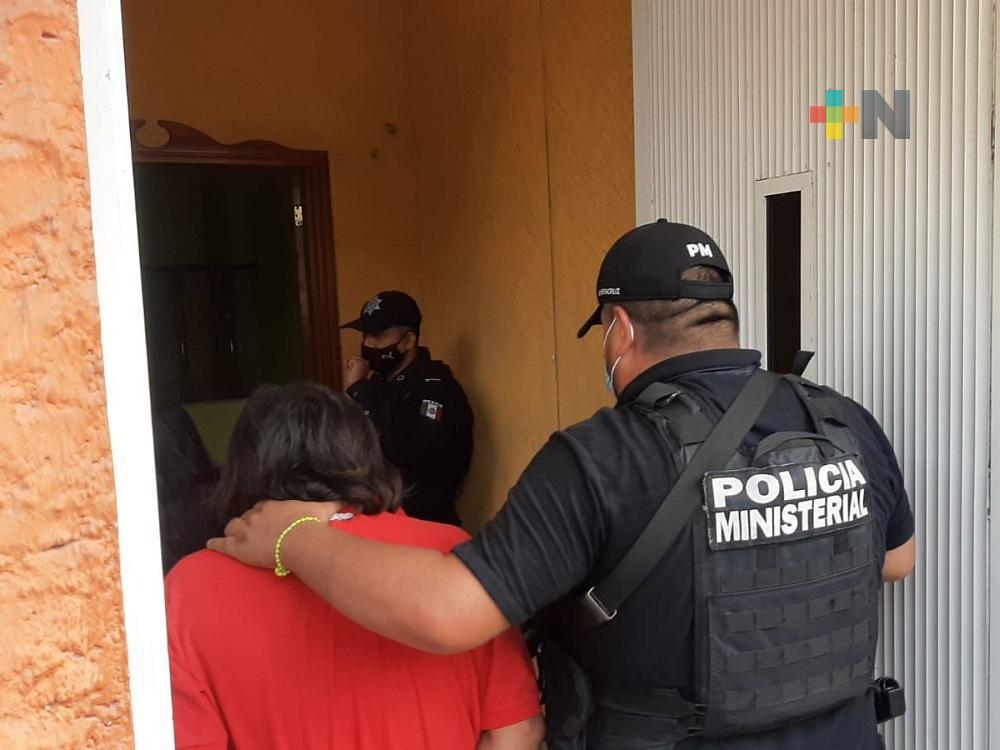 Feminicida de joven de 16 años rindió declaración en la Fiscalía de Veracruz, en Nanchital