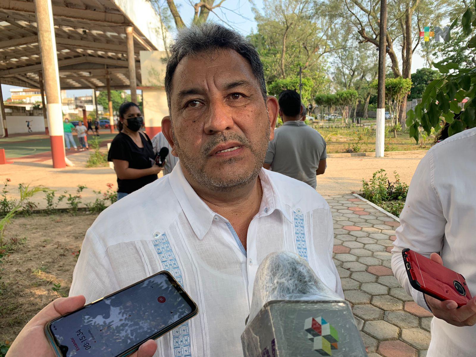 Alcalde electo de Coatzacoalcos se congratuló con la rehabilitación del Gimnasio 20 de Noviembre