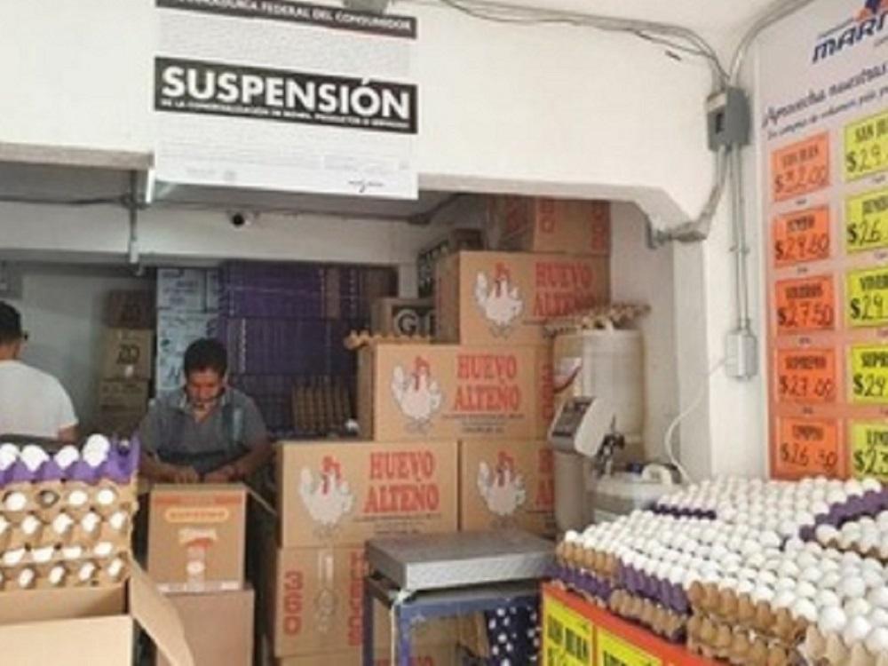 Aumentan a 126 los establecimientos sancionados por Profeco por alza injustificada de precios