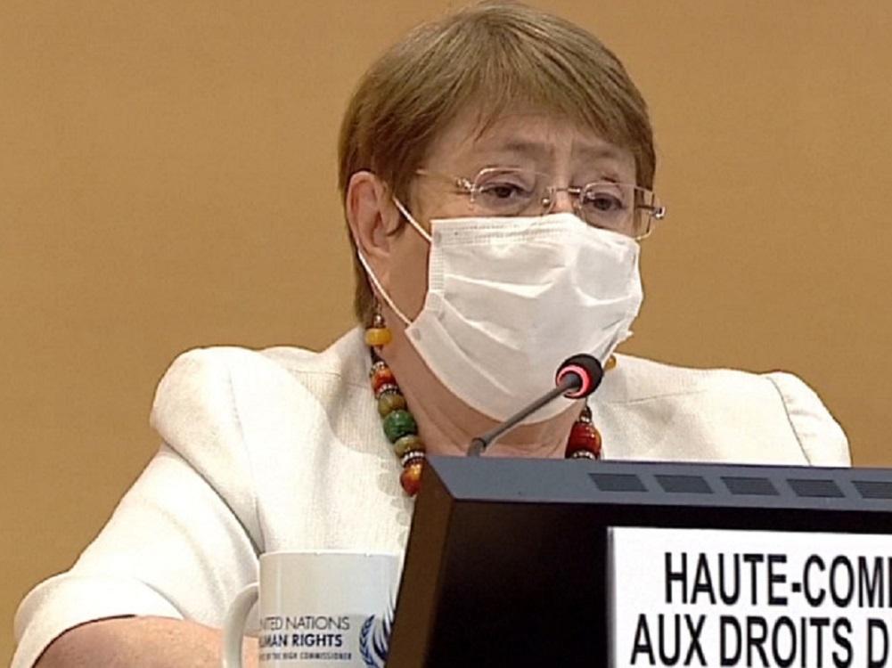 Bachelet, preocupada por la violencia en Colombia y México