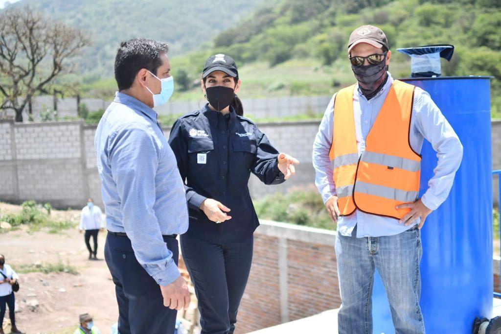 Supervisó la fiscal de Veracruz avances en construcción de la Unidad Integral de Servicios Médicos Forenses en Nogales