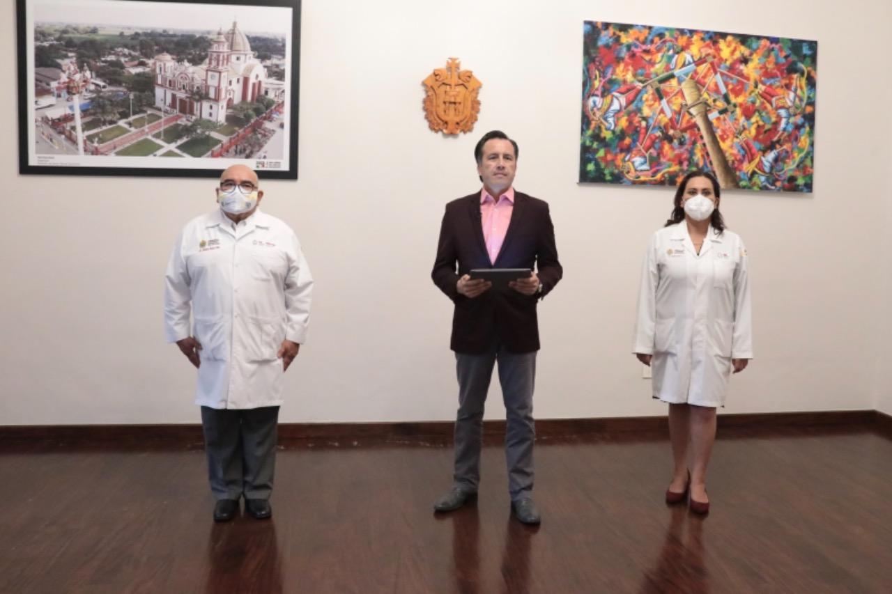 Segundas dosis para el sector de 50 a 59 años iniciará el 8 de junio en tres municipios: Gobernador de Veracruz