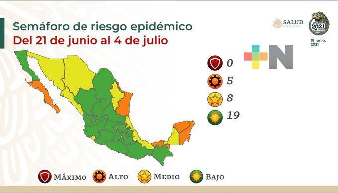 Se mantiene Veracruz en semáforo amarillo