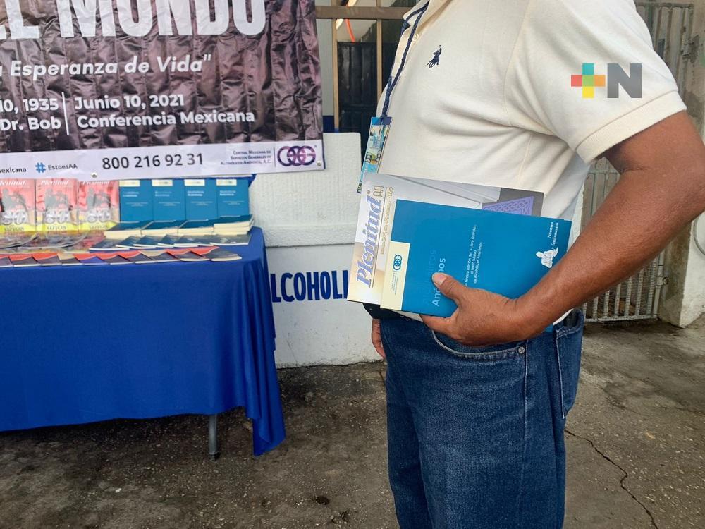 En Coatzacoalcos, Alcohólicos Anónimos reinició sus actividades presenciales con medidas sanitarias