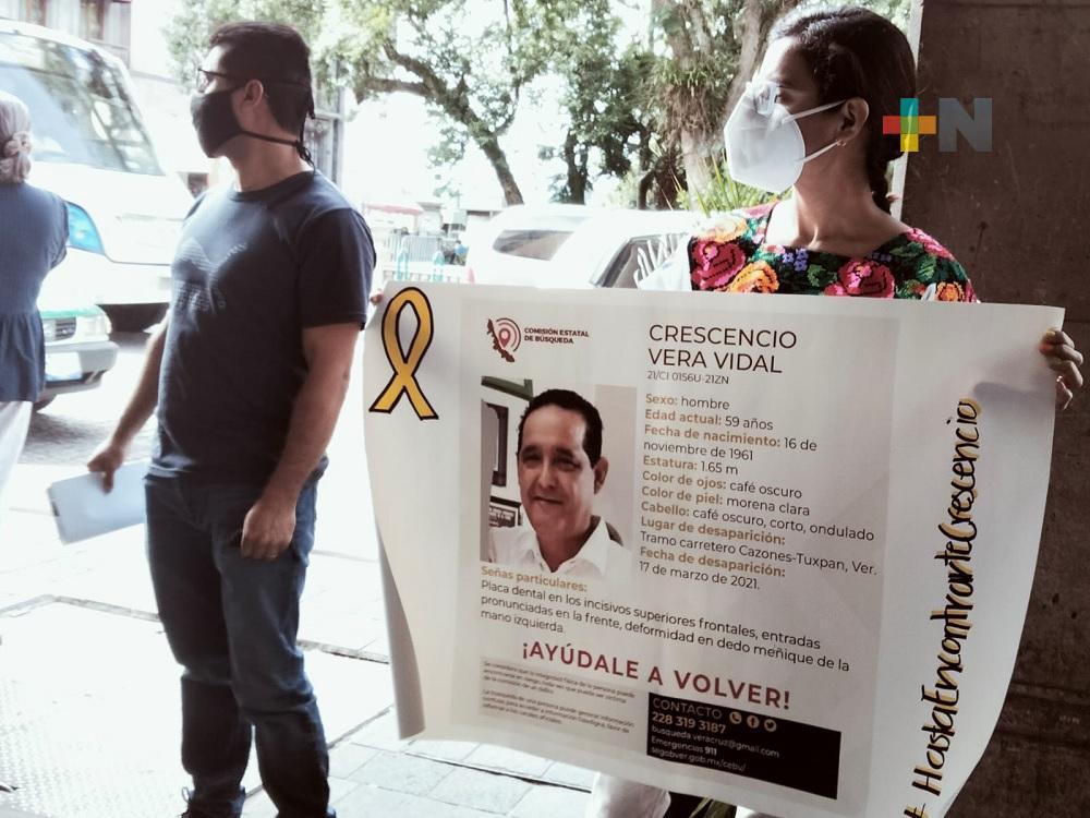 Familiares de ex alcalde de Tepetzintla exigen investigación por su desaparición