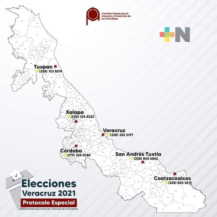 Despliega CEAPP protocolo especial para la jornada electoral de este domingo