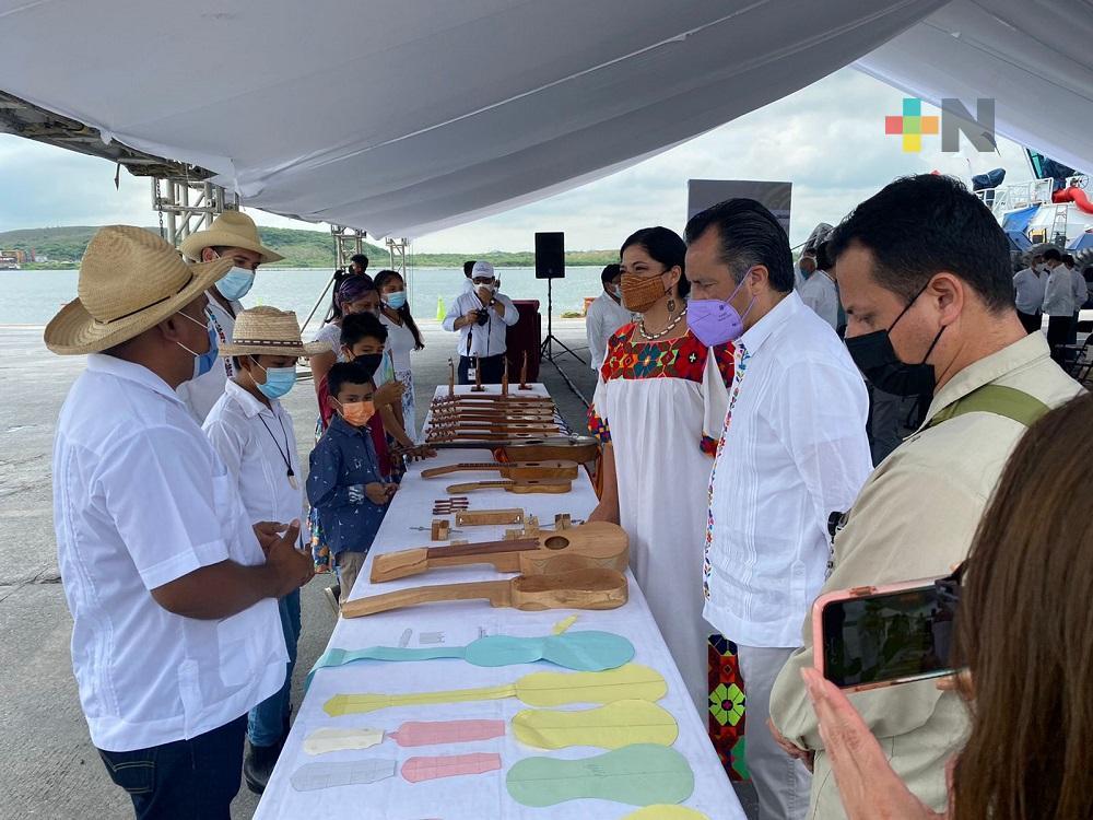 Gobiernos de Veracruz y Oaxaca firmaron convenio de colaboración con Secretaría de Cultura