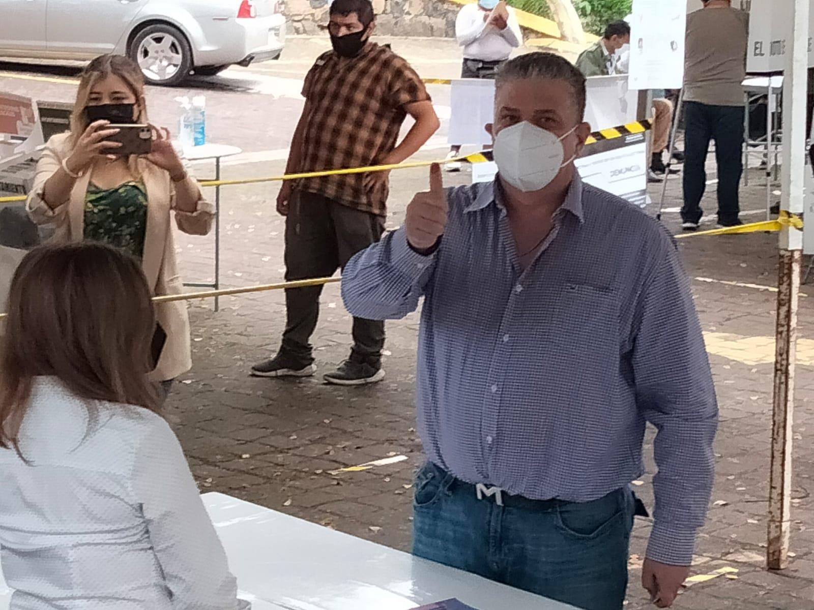 Jornada electoral transcurre con tranquilidad, afirmó el secretario de Seguridad Pública de Veracruz