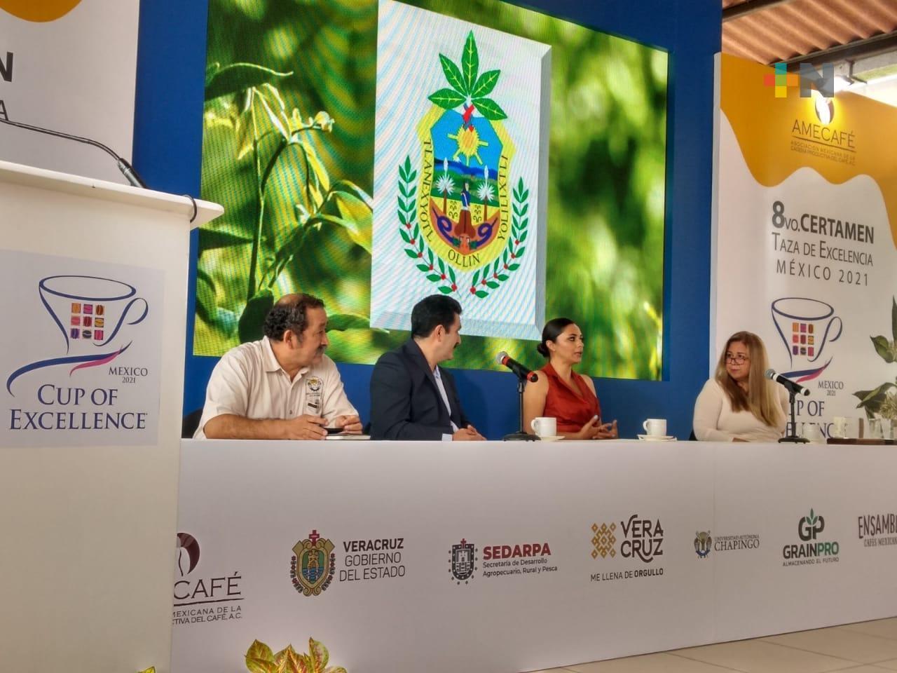 Certamen Taza de Excelencia México se realizó Ixhuatlán del Café