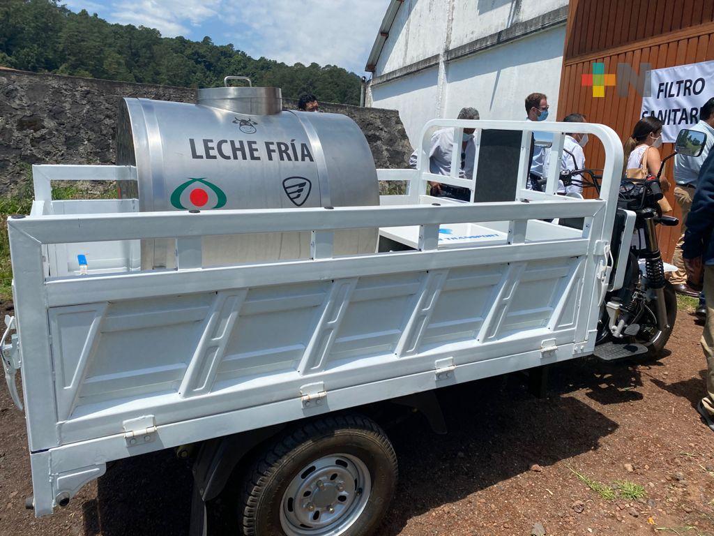 Unen esfuerzos SADER y SEDARPA con novedosa tecnología en favor de producción lechera