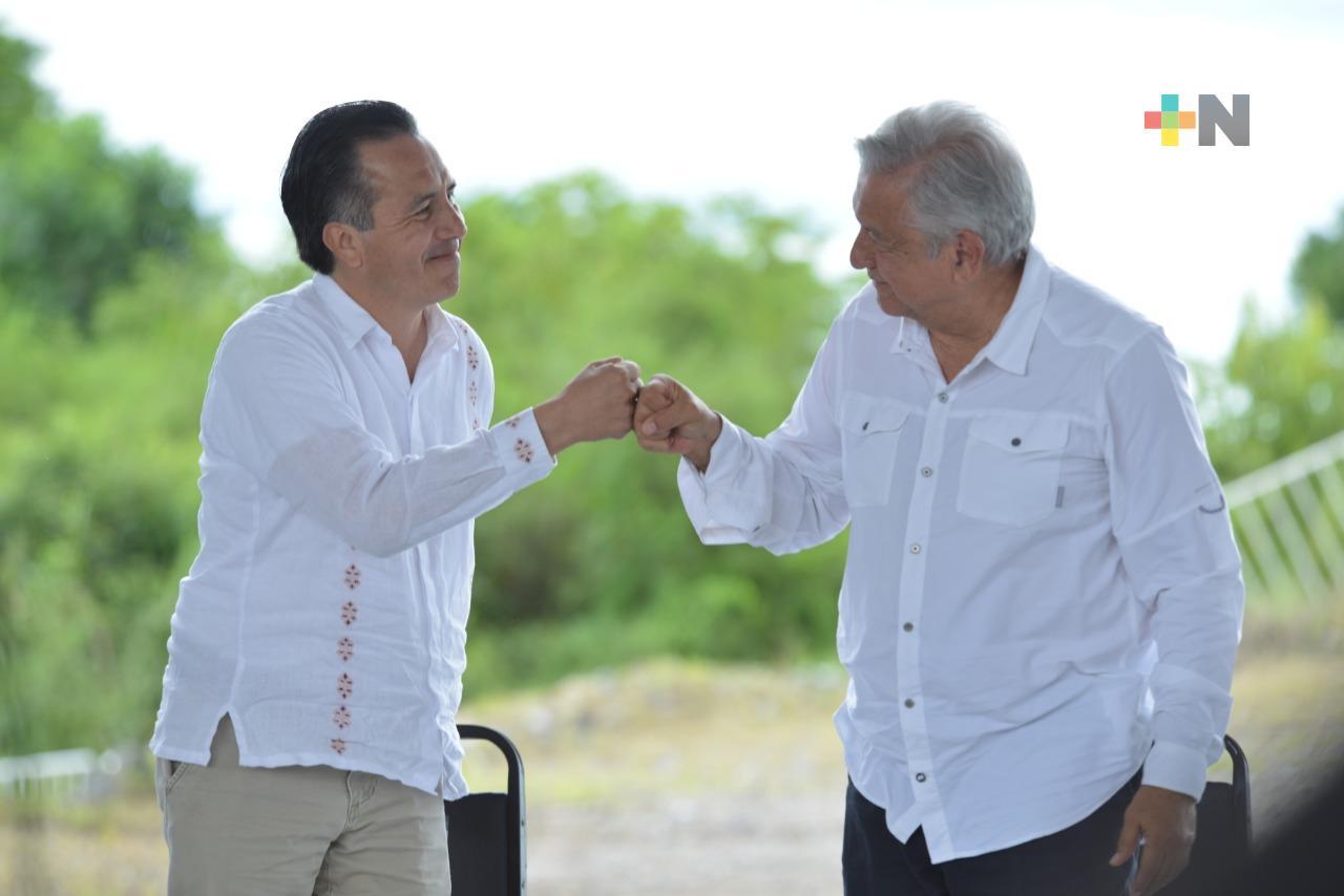 Con plan integral de bienestar, acuerdan Gobierno y localidades continuar trabajos en autopista Cardel-Poza Rica