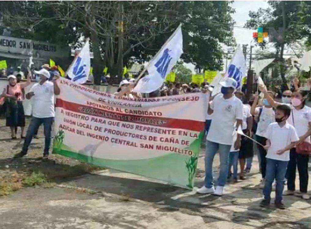 Inició inscripción para candidatos a la presidencia de la Unión Local de cañeros en Ingenio San Miguelito