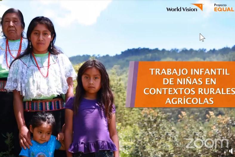 """Secretaría del Trabajo impartió la conferencia virtual """"Trabajo infantil en contextos rurales agrícolas"""""""