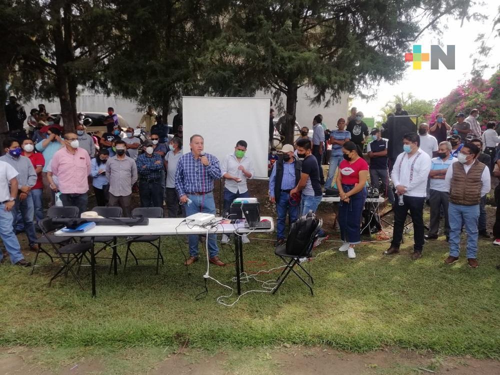 Iniciarán proyecto de rehabilitación del sistema en Nogales con una inversión millonaria del gobierno de Veracruz