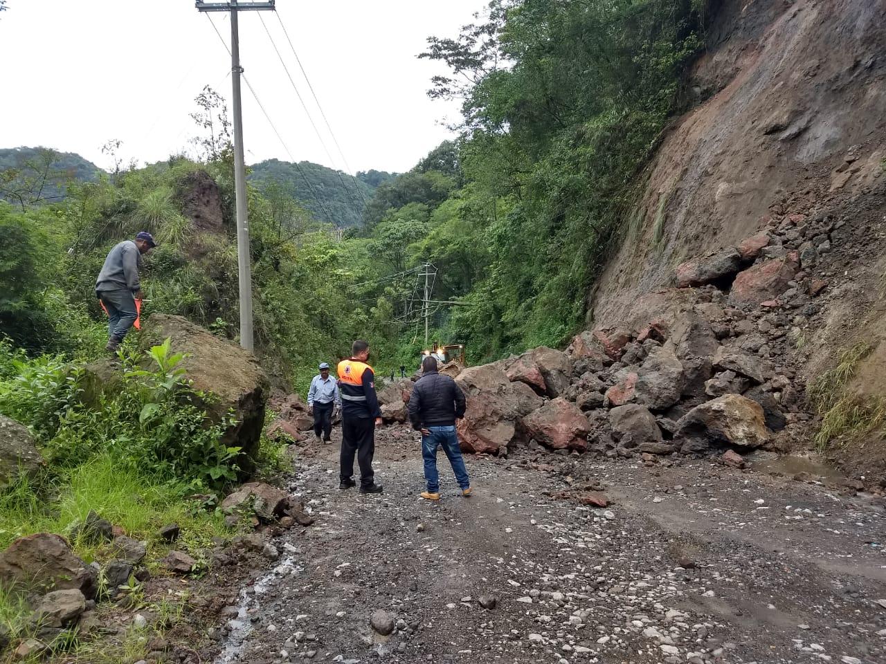 Reporta Protección Civil algunas afectaciones por las lluvias en diferentes municipios de Veracruz