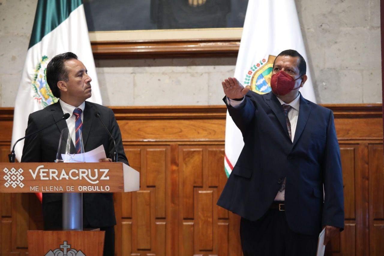 Nombra Gobernador de Veracruz a nuevo titular en el SEDARPA