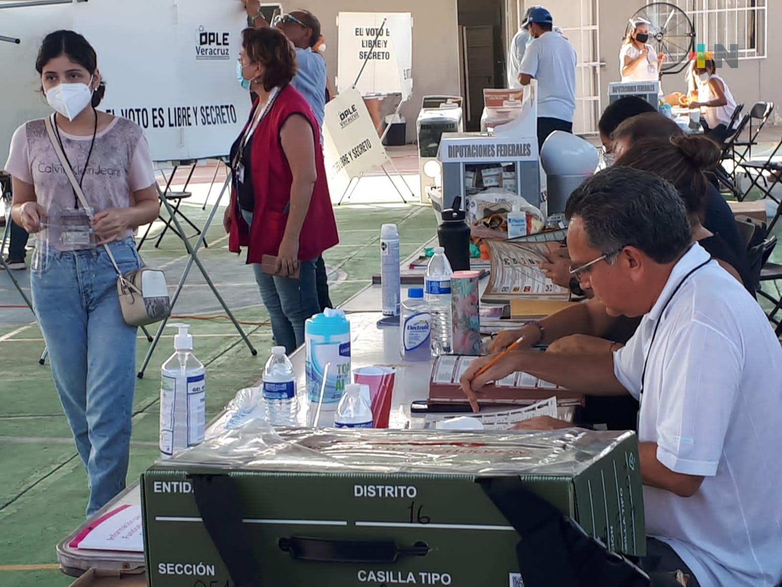 Votó el 50 por ciento del padrón electoral en Boca del Río