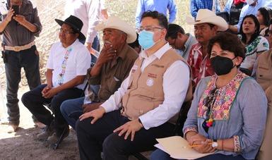 Con ceremonia a la Madre Tierra, inicia construcción de la Universidad del Pueblo Yaqui