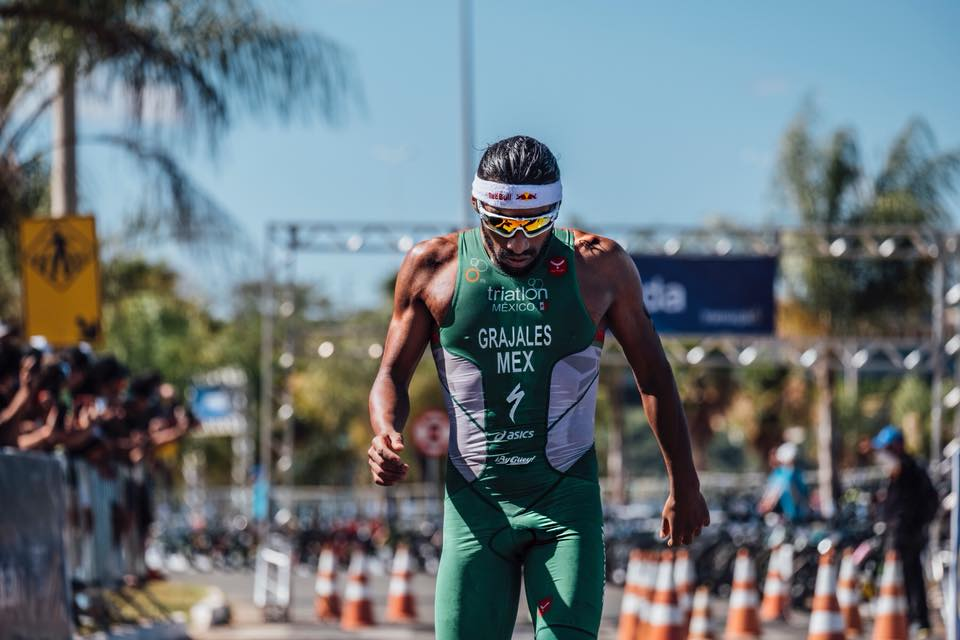 Crisanto Grajales quedó 31 en triatlón de Tokio 2020