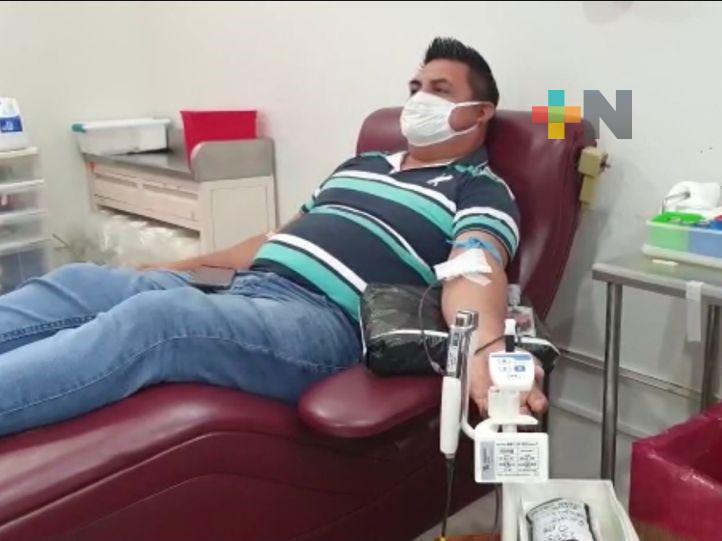 En Hospital Regional de Coatzacoalcos, se continúa recibiendo a donadores altruistas de sangre