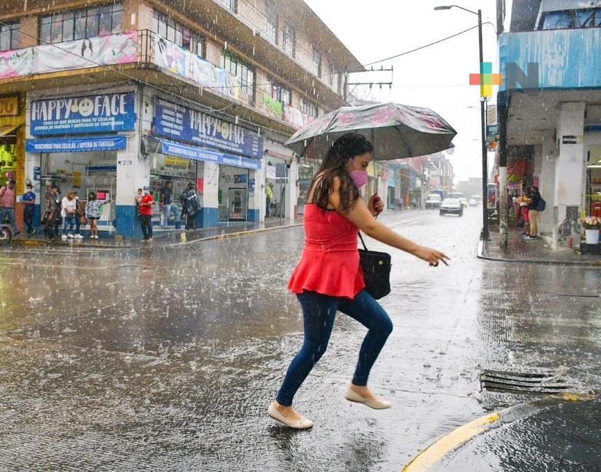 Iniciamos la semana con más lluvias/tormentas en la entidad veracruzana