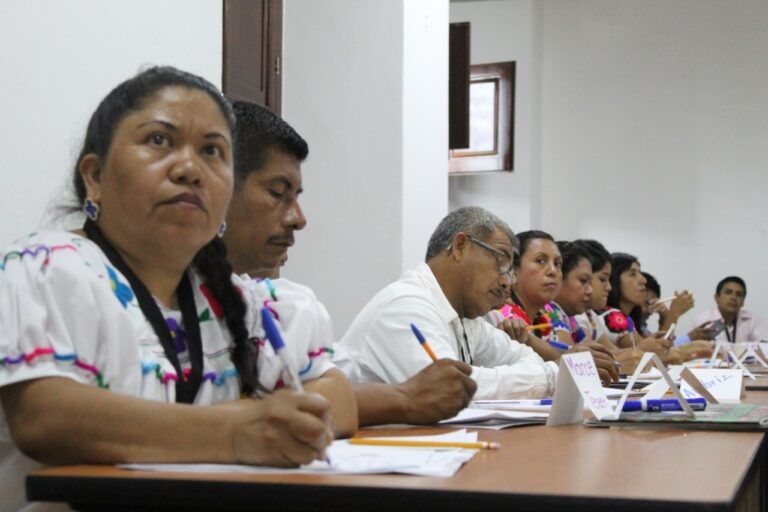 Presenta IVEC talleres para mediadores de lectura en comunidades indígenas