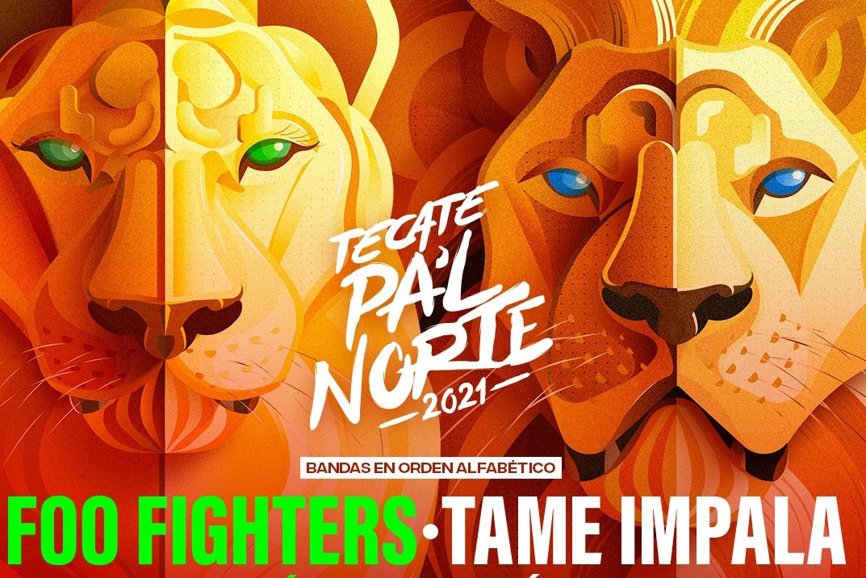 Foo Fighters y Tame Impala encabezan el cartel de Tecate Pal'Norte 2021
