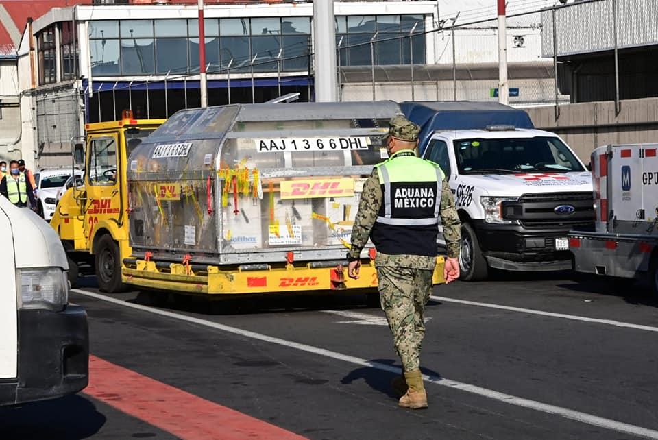Llegaron 585 mil vacunas de Pfizer a la ciudad de México