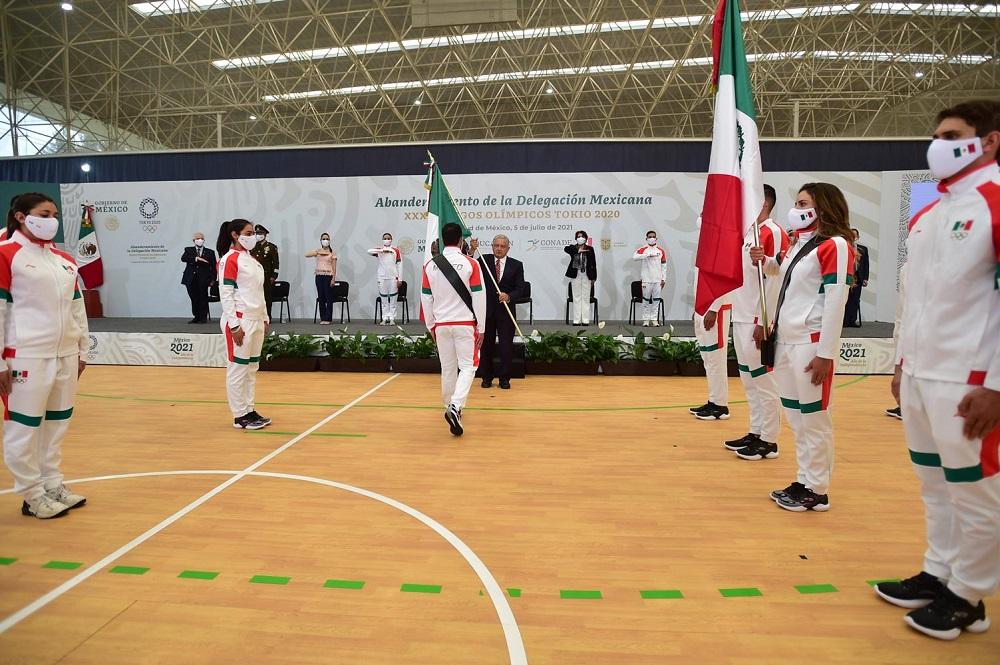 Atletas mexicanos tendrán buenos resultados en Juegos Olímpicos de Tokio: AMLO