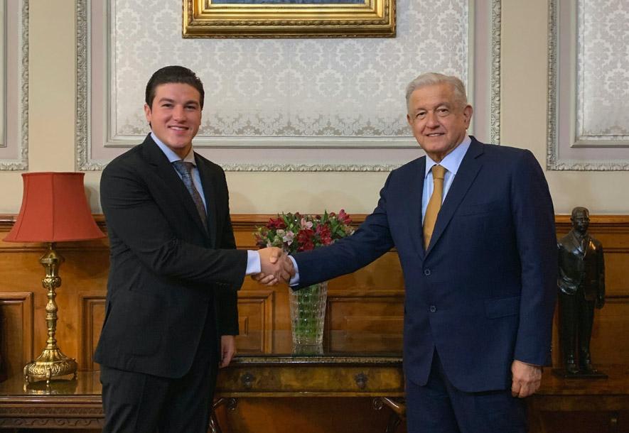 Presidente sostiene reunión con gobernador electo de Nuevo León