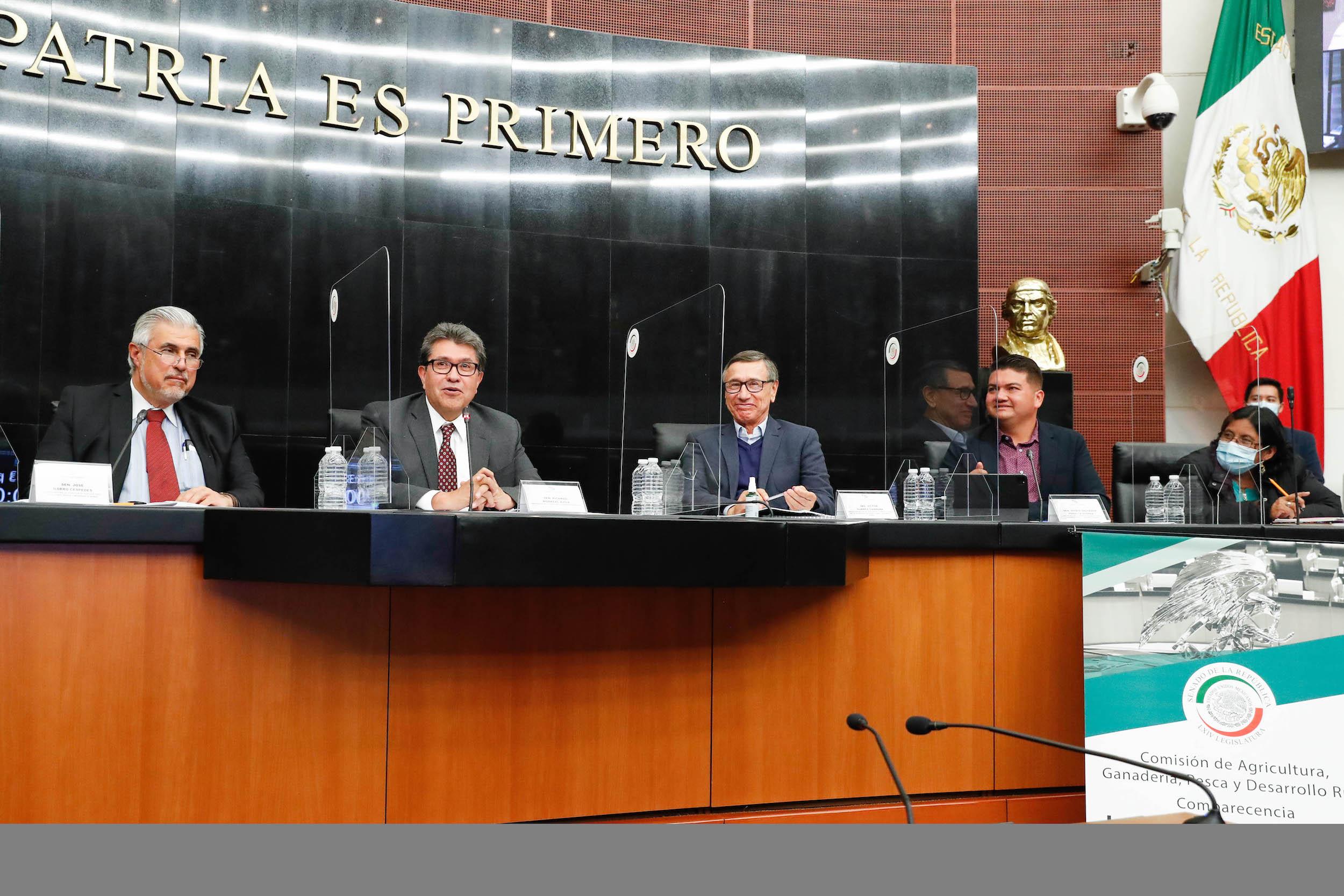 Analizan Senadores y Secretaría de Agricultura y Desarrollo Rural políticas federales de apoyo al campo