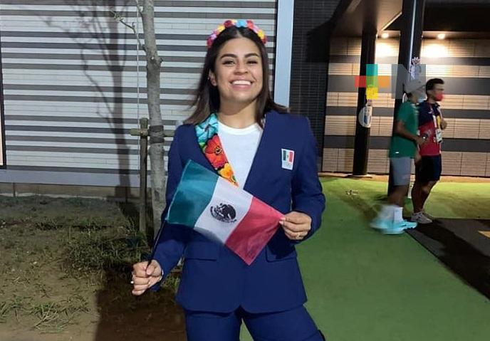 Ana Gabriela López Ferrer está lista, «va con Tokio»