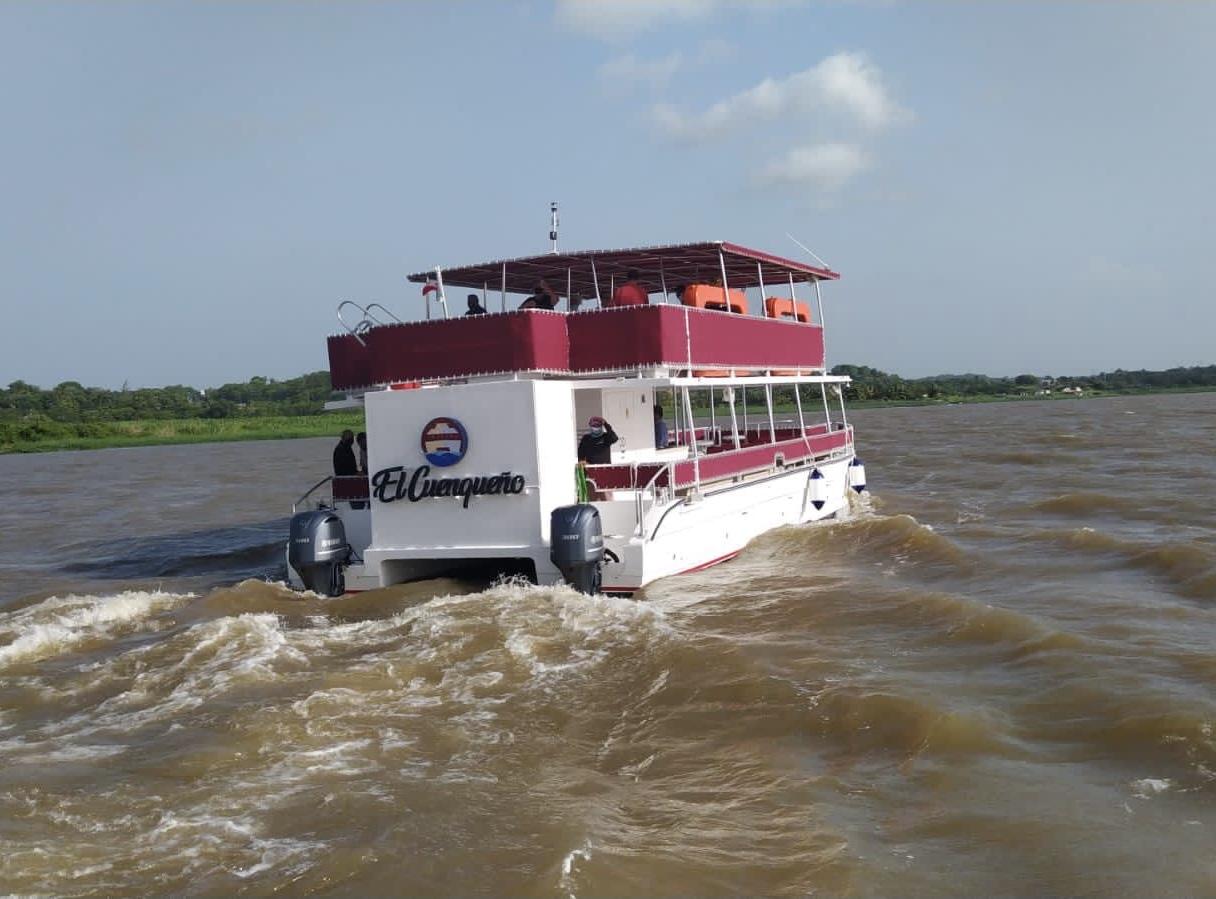 """Ya se alista """"El Cuenqueño"""" para surcar aguas del río Papaloapan"""