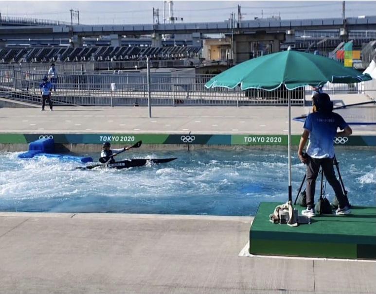 La veracruzana Sofía Reinoso hace historia y avanza a la semifinal en canotaje slalom de Tokio 2020
