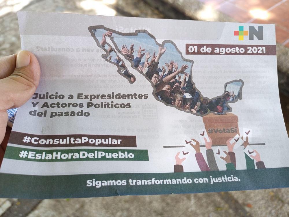 A través de la página oficial del INE se podrán ubicar mesas receptoras de la Consulta Popular