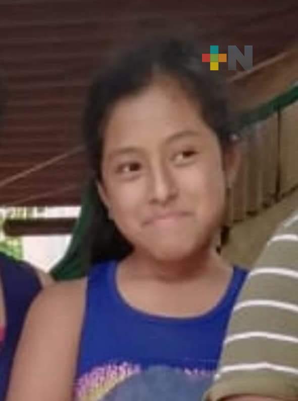 Piden apoyo para localizar a la menor Ana Martínez Agapito, originaria de Pajapan