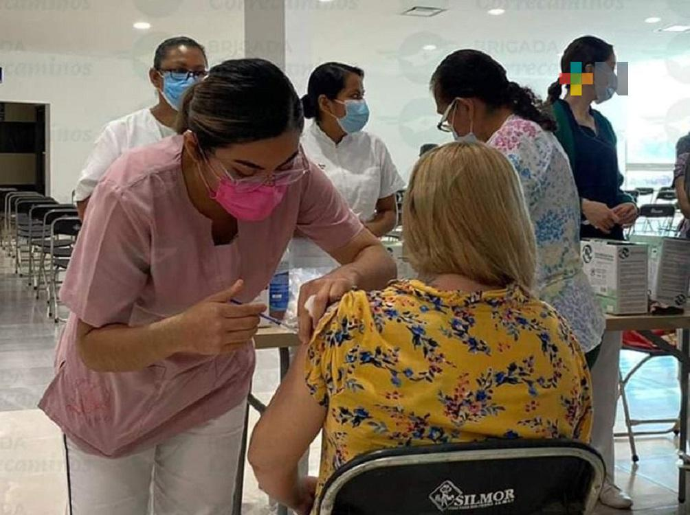 Avanza Jornada de Vacunación anticovid en municipios del sur de Veracruz