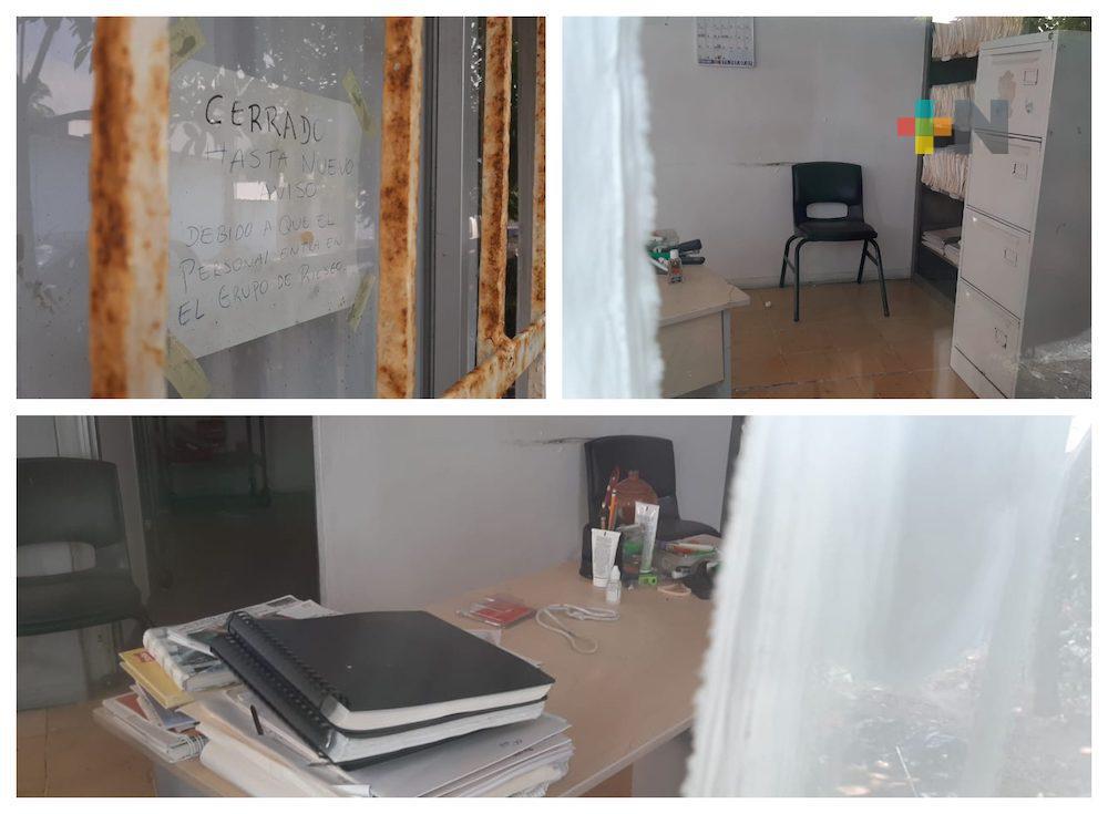 Piden reabrir Centro de Salud ubicado en colonia Luis Echeverría de Veracruz