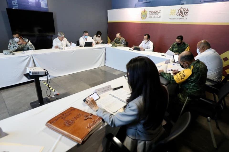 Incidencia delictiva en Veracruz continúa a la baja, se informó en la mesa de seguridad
