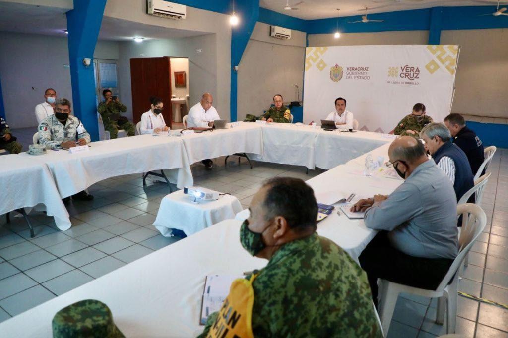 Encabezó Gobernador de Veracruz mesa de seguridad en el municipio de El Higo