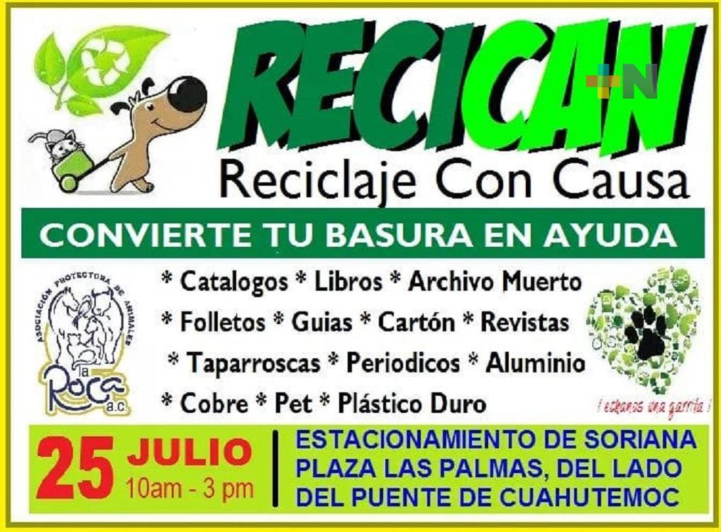 En Veracruz, albergue La Roca llevará a cabo el «Recican»