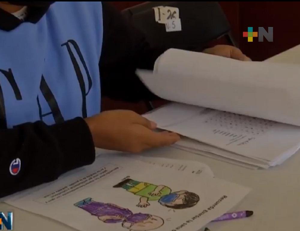 En Xalapa, módulos de vacunación anticovid cuentan con servicio de guardería momentánea