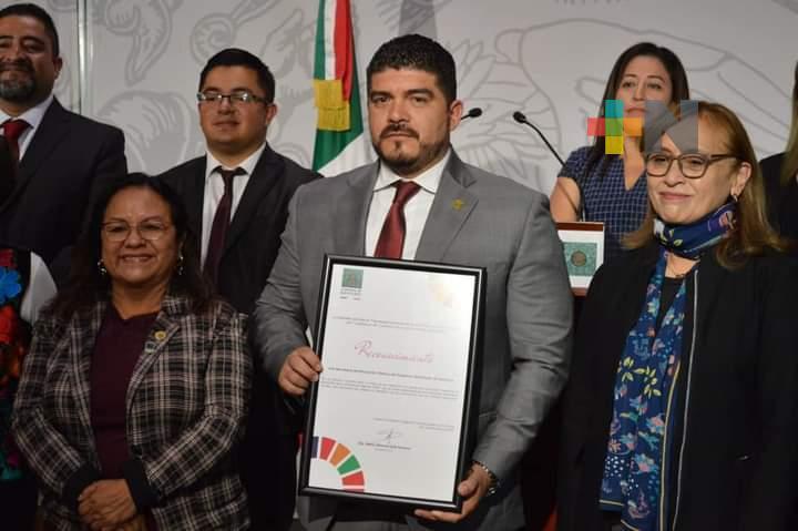 Congreso de la Unión reconoce plataforma MiSEV