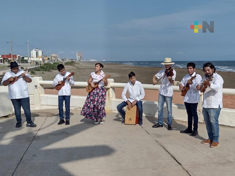 Grupo Son de Tláloc, se presentó en la segunda Feria Virtual del Libro Perú